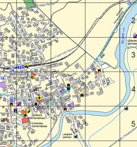 Maps of the Engadin St Moritz region Winter in the Engadin St Moritz
