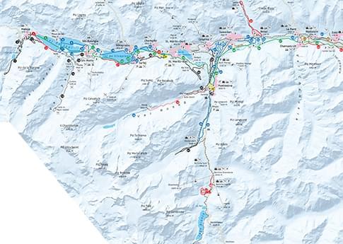 engadin karte Engadin ski marathon trail (Maloja   S chanf) | Winter in the