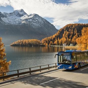 Postbus Bregaglia Included Summer In Engadin St Moritz